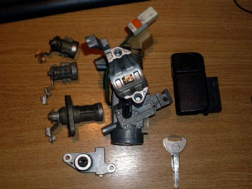 Lock set, with key, MX-5 mk2 1998-2005, USED